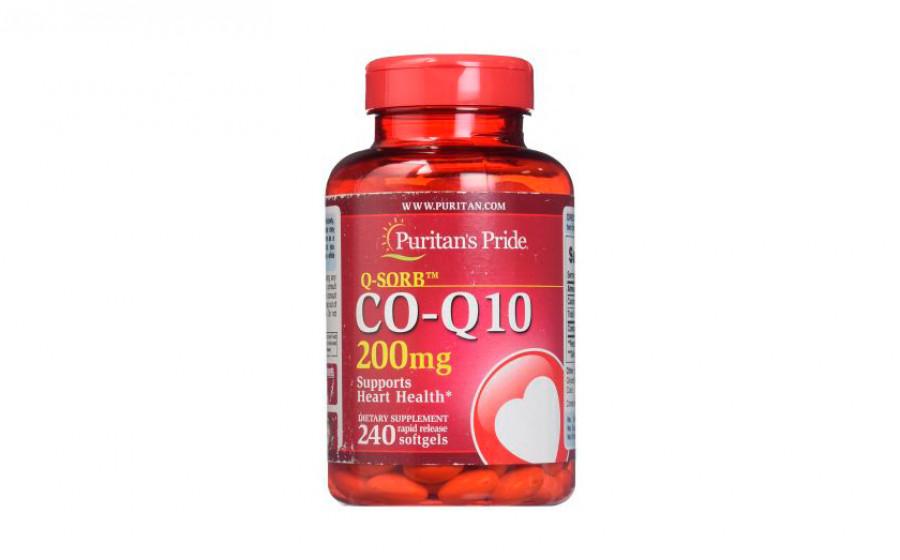 Puritan's Pride Коэнзим Q10 200 мг 240 капс