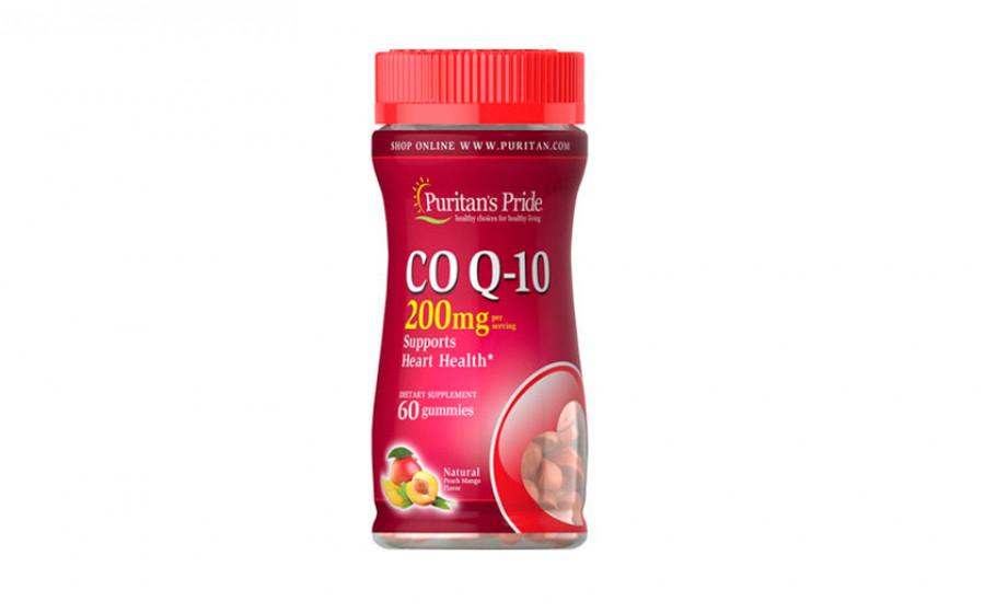Puritan's Pride Коэнзим Q10 200 мг 60 жевательных конфет