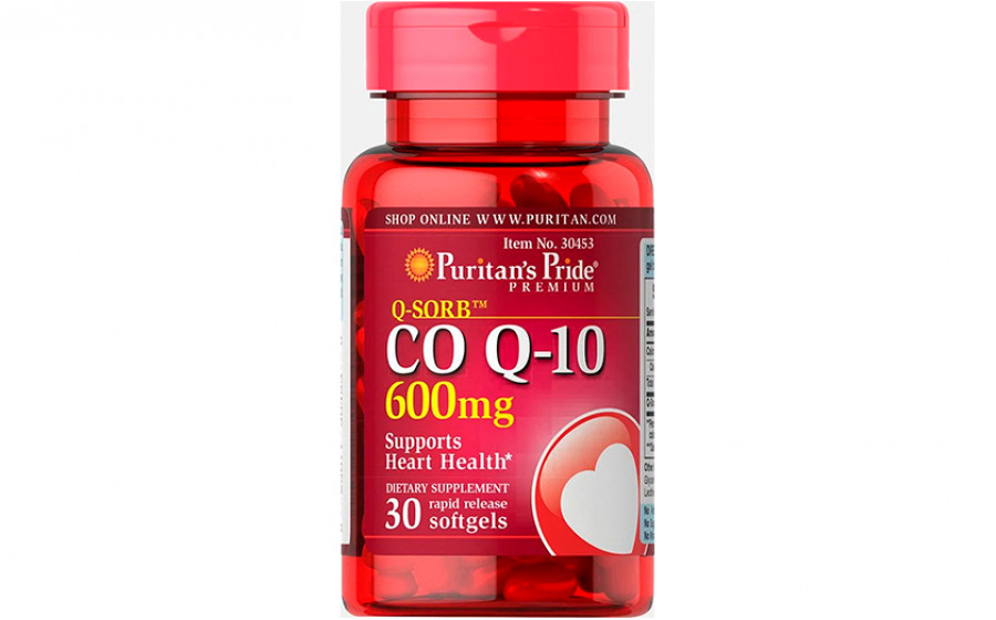 Puritan's Pride Коэнзим Q10 600 мг 30 капс