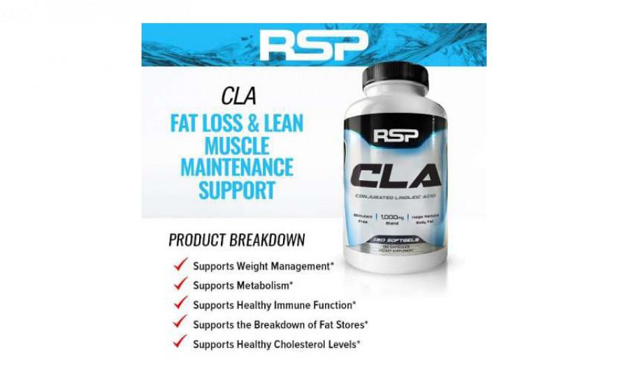 RSP CLA 180 caps