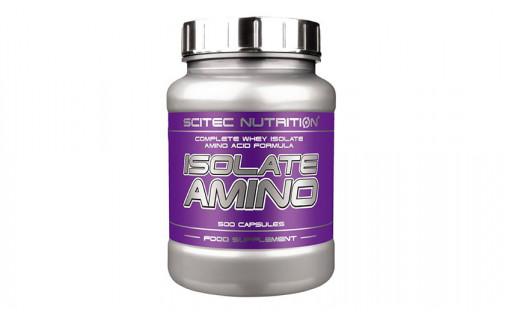 Scitec Isolate Amino 500 caps
