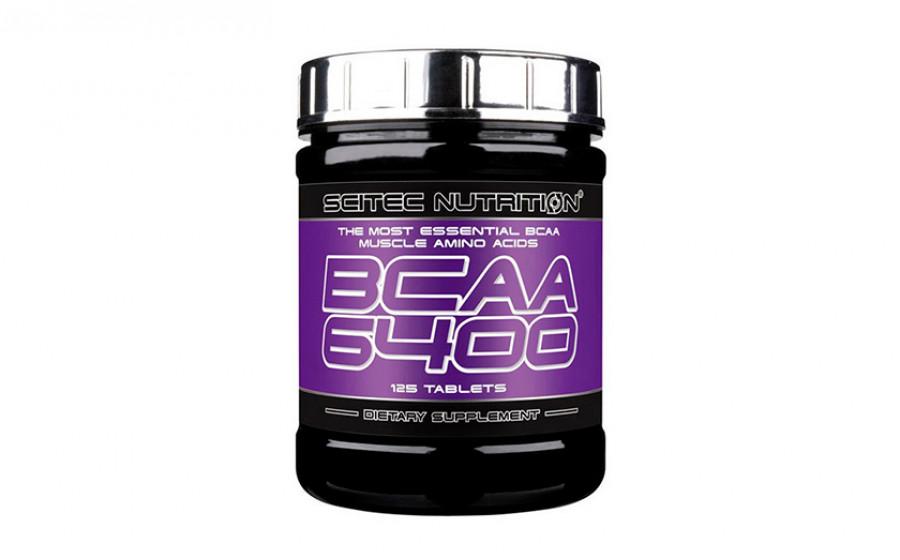 Scitec Nutrition BCAA 6400 125 tab
