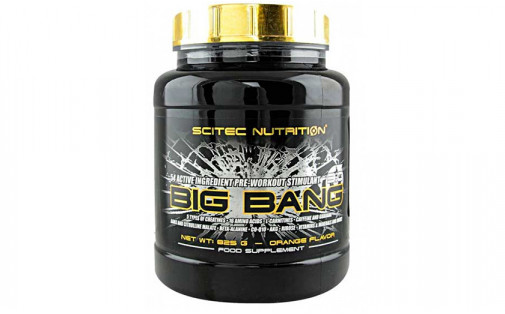 Scitec Nutrition Big Bang 3.0 825 г