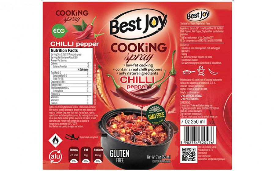 Best Joy Cooking Spray Chili 250 мл