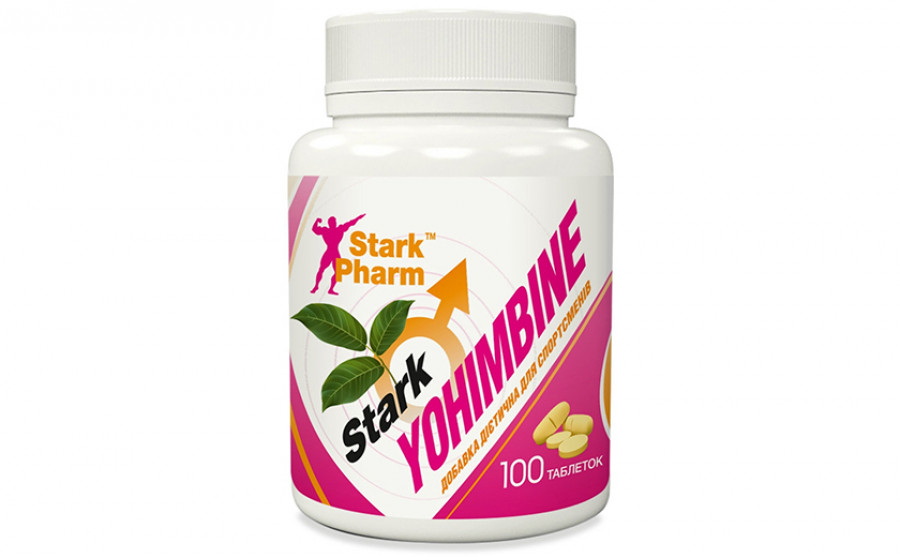 Stark Pharm Yohimbine 100 tab