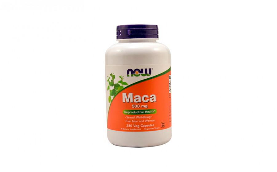 NOW MACA 500 мг 250 капс