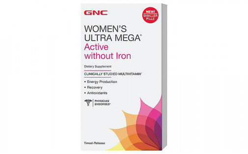 GNC Womens Ultra Mega Active Without Iron - 90 таб