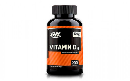 Optimum Nutrition Vitamin D 200 капс