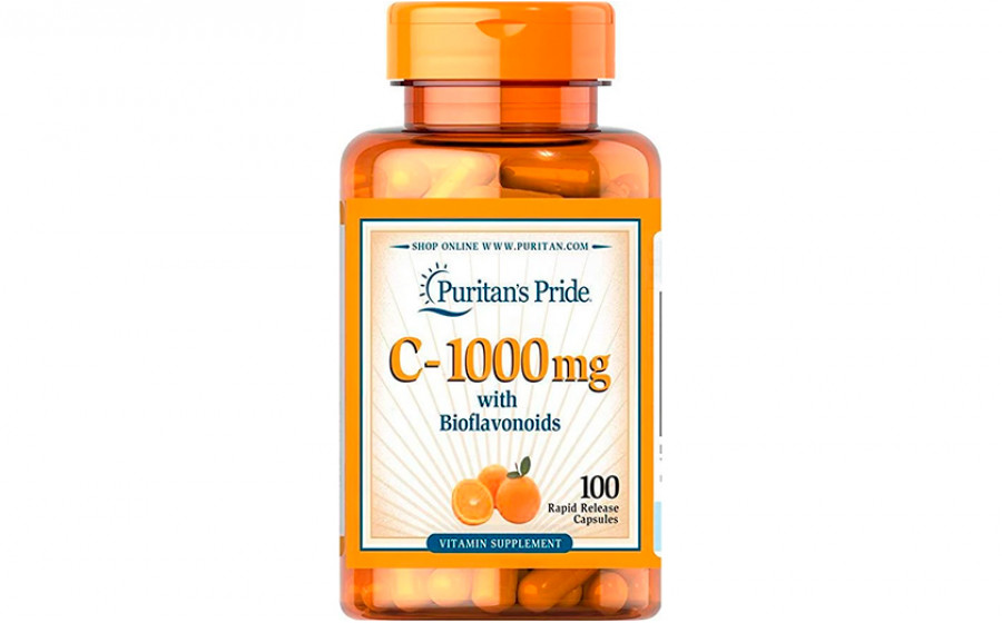 Puritan's Pride C-1000 мг 100 таб