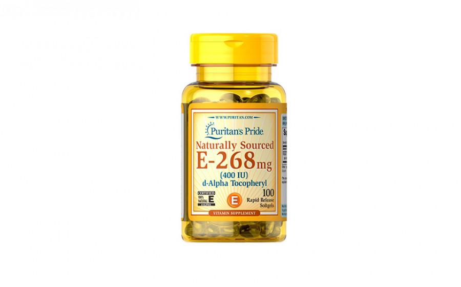 Puritan's Pride E-268 мг (400IU) 100 капс