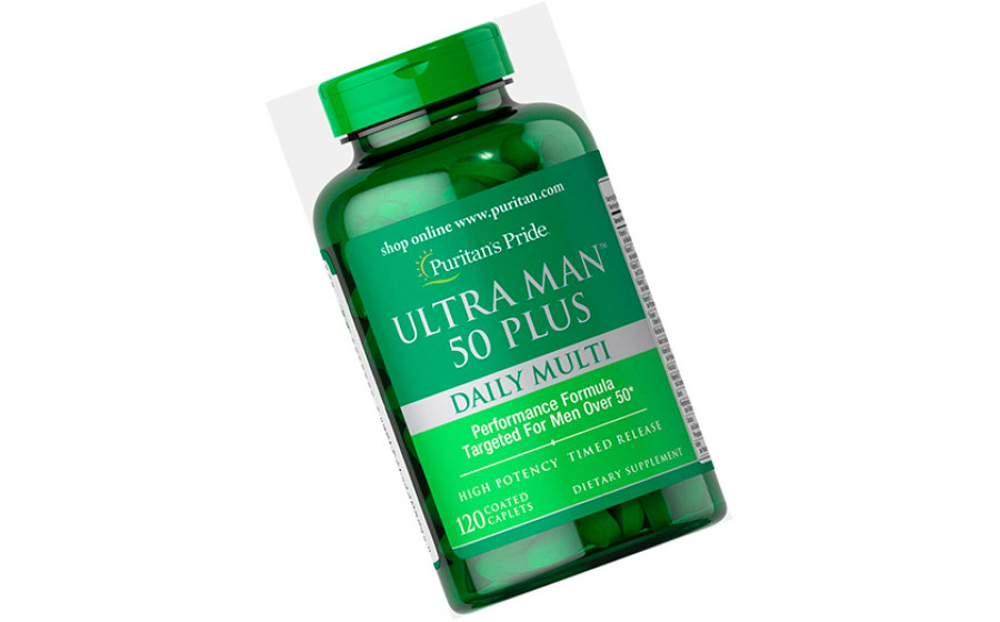 Puritan's Pride Ultra Man 50 Plus - 120 капс