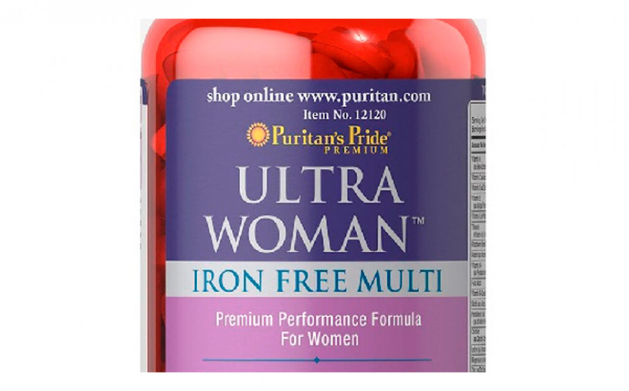 Puritan's pride Ultra Woman Iron Free Multi 90 таб