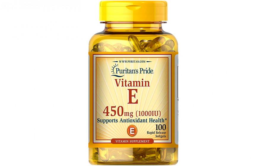 Puritan's Pride Vitamin E 450 мг (10000 IU) 100 капс