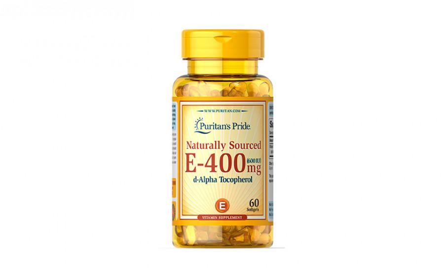 Puritn's Pride E-400 мг (600 IU) 60 капс