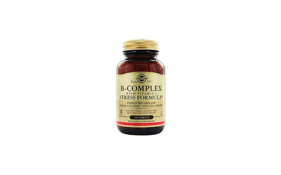 Solgar B-Complex StressFormula 100 таб