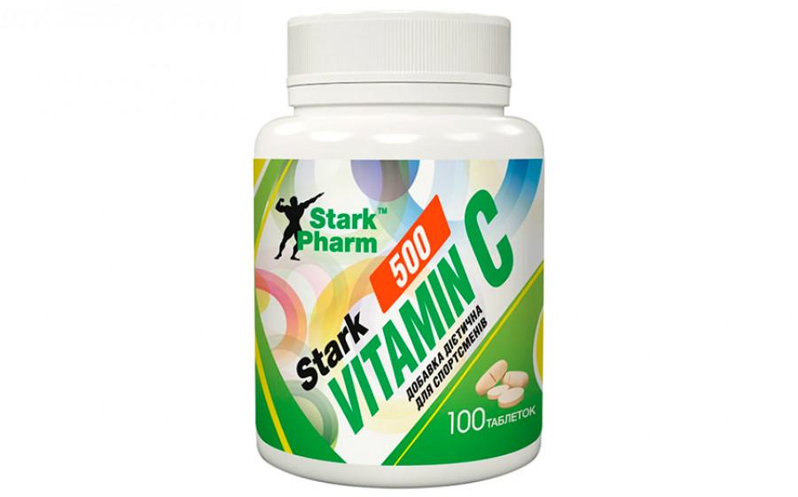Stark Pharm Vitamin C 500 мг 100 таб