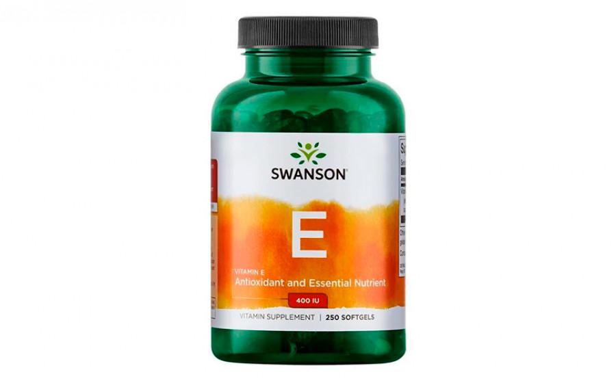 Swanson Vitamin E 400 IU 250 капс