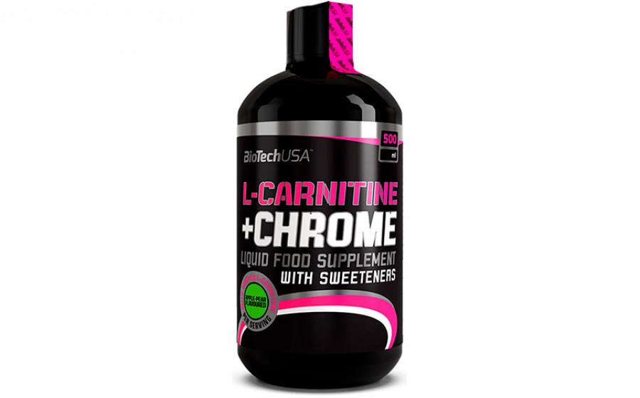 Biotech USA L-Carnitine+Chrome 500 мл