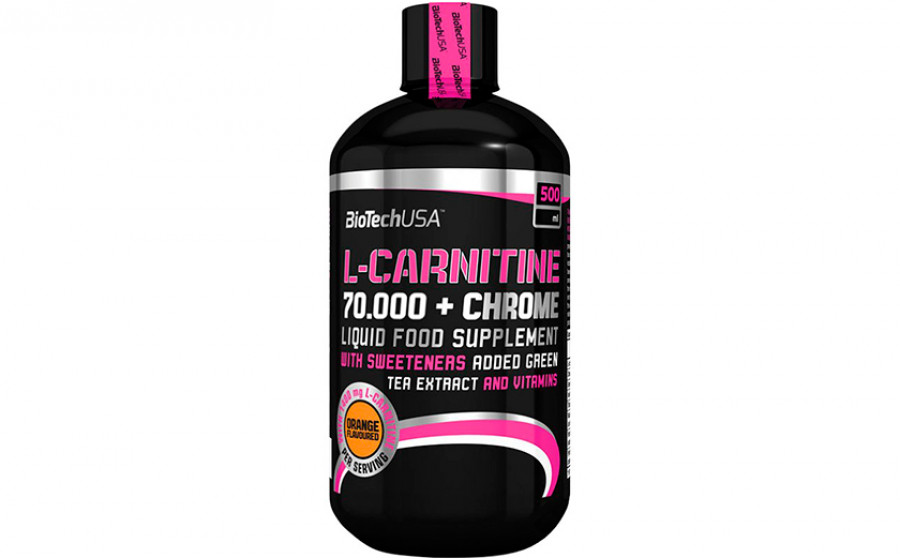 Biotech USA L-Carnitine+Chrome 70000 500 мл