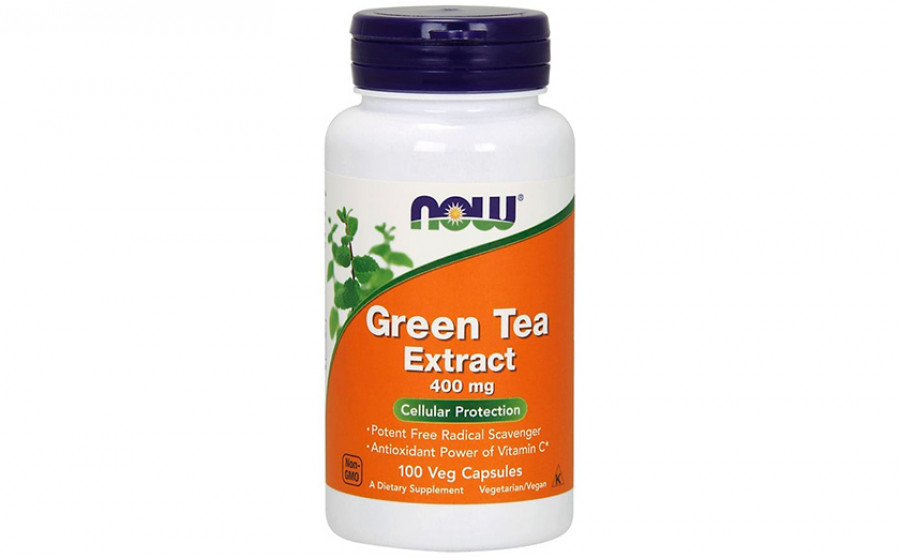 NOW Green Tea Extract 400 мг 100 капс