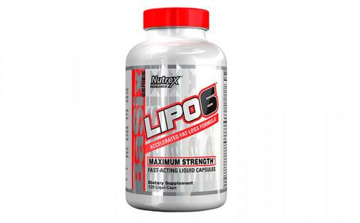 Nutrex Lipo-6 120 liquid caps