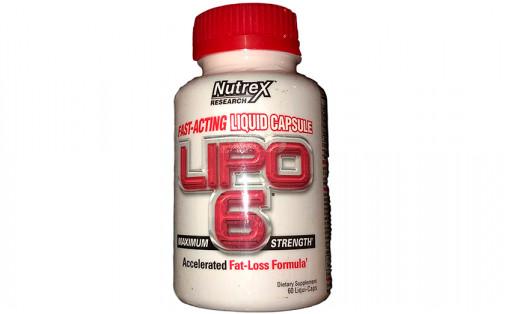 Nutrex Lipo-6 60 liqui-caps