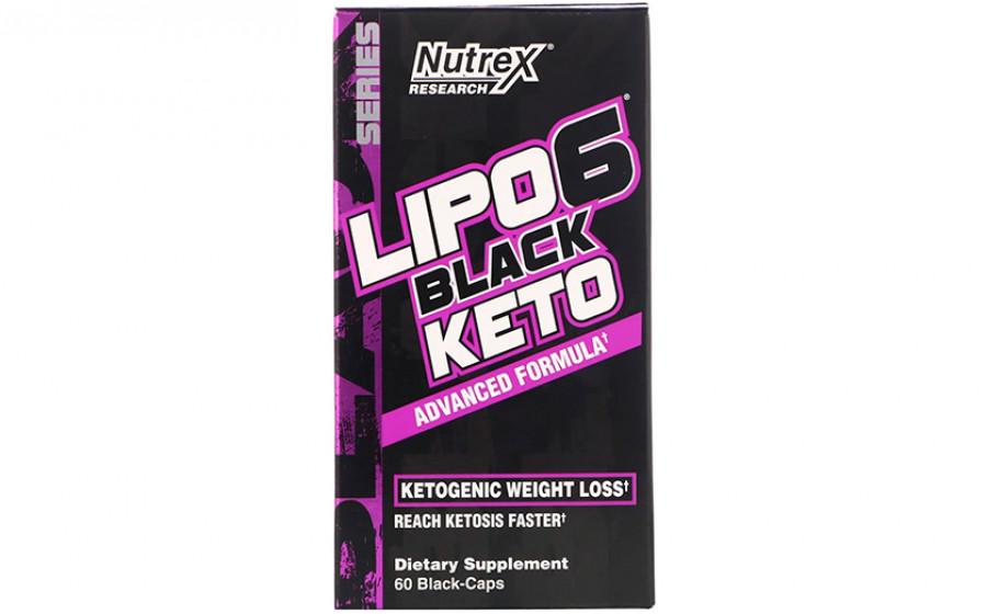 Nutrex Lipo-6 Black Keto 60 black caps