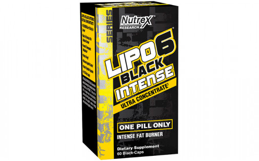 Nutrex Lipo-6 Black UC Intense 60 black caps