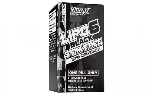 Nutrex Lipo-6 Black UC Stim-Free 60 black caps