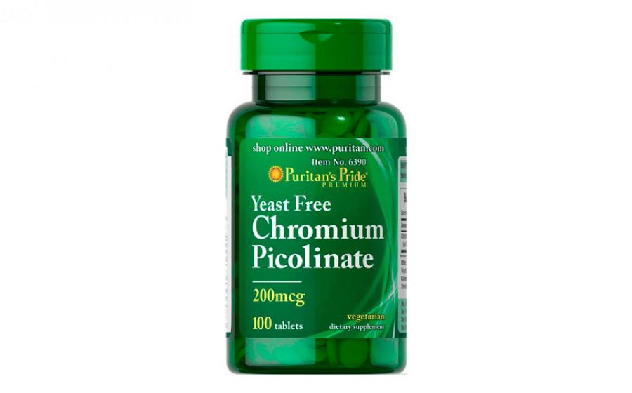 Puritan's Pride Chromium Picolinate 100 таб
