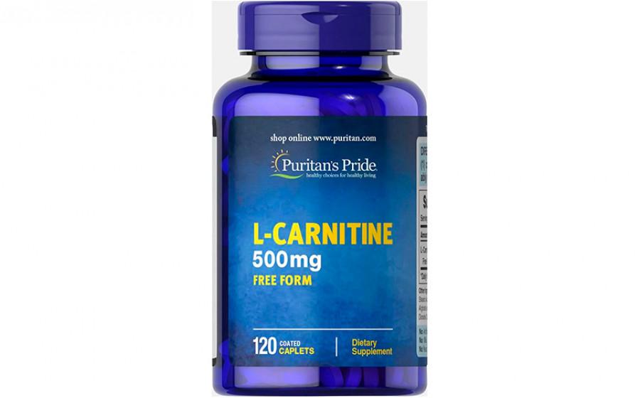Puritan's Pride L-Carnitine 500 мг 120 капс