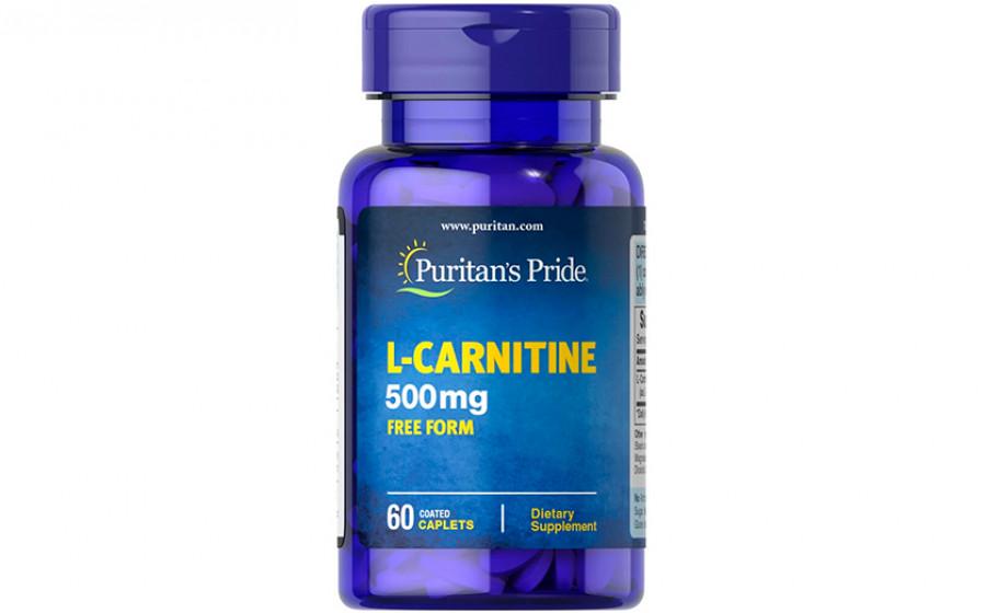 Puritan's Pride L-Carnitine 500 мг 60 капс