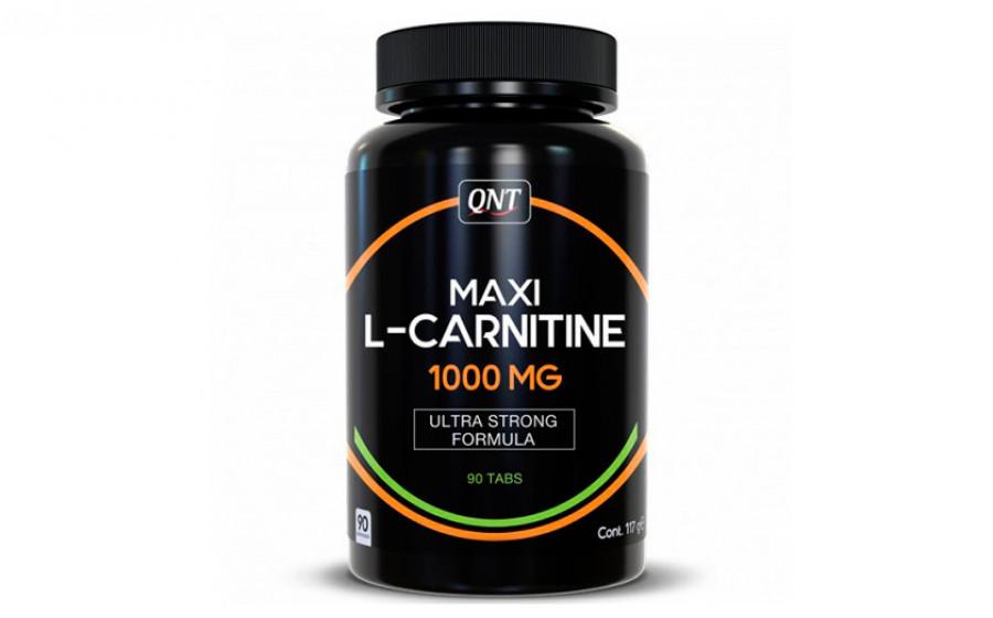 QNT MAXI L-Carnitine 1000 мг 90 таб
