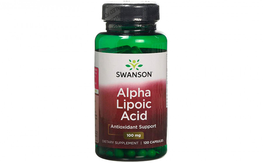 Swanson Alpha Lipoic Acid 100 мг 120 капс
